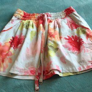 Gilly Hicks flowered mini skirt